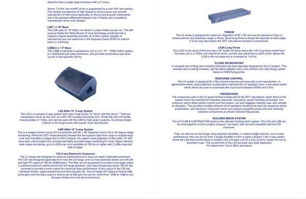 Court Acoustics LX PA System