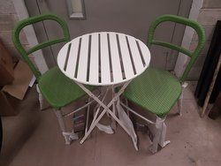 4 No. New out door table and chair sets