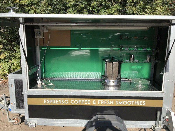 Coffee trailer for sale