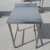 Used Stainless Steel Table (9261)