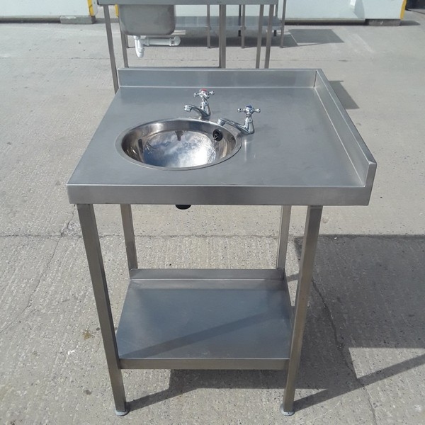 Used Stainless Steel Hand Sink (9260)