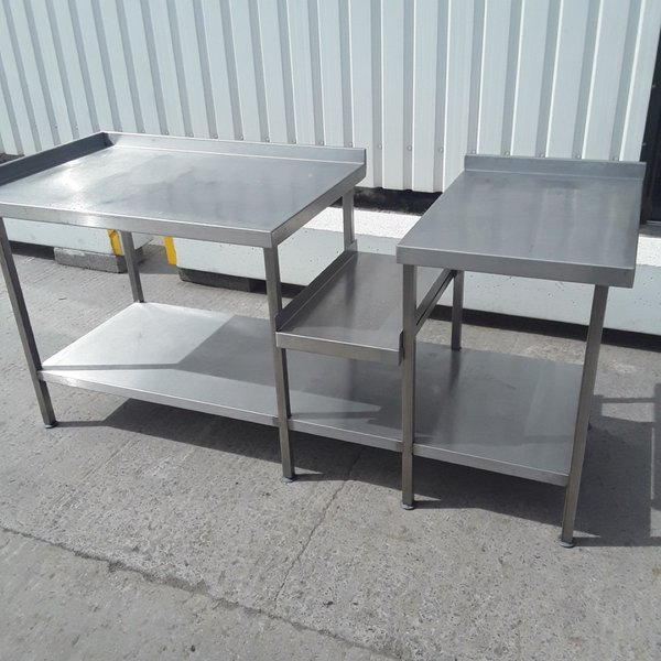 Used Stainless Steel Table (9258)
