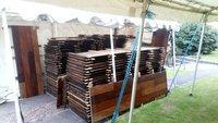 Used Hardwood Ply Interlocking Flooring