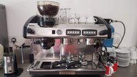 Used Escobar Coffee Machine with Coffee Grinder and Barista Kit