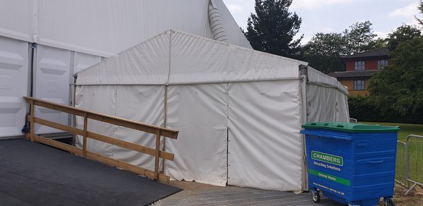 Clearspan 6m x 9m Heavy Duty Frame Marquee