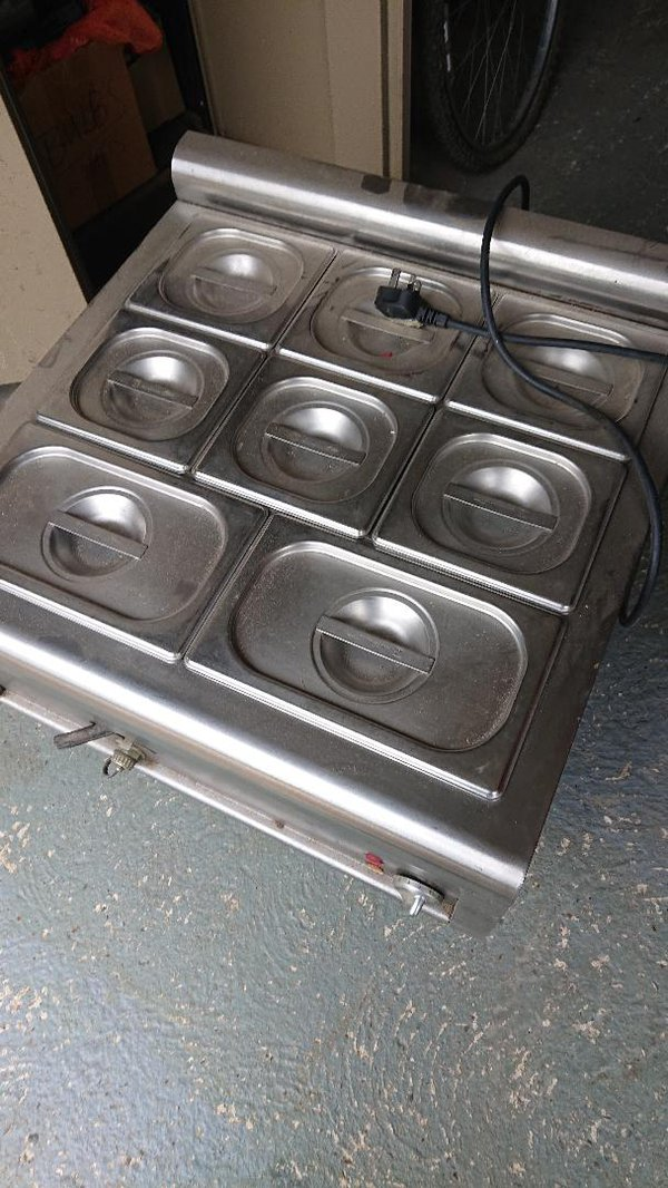 Counter top Bain Marie for sale