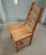 Secondhand restaurant chairs and tables