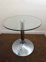 6x Glass Top Coffee Tables