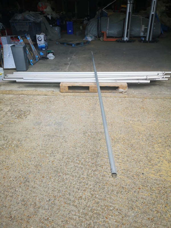 Used Pipe and drape extendable cross bars 10-18ft