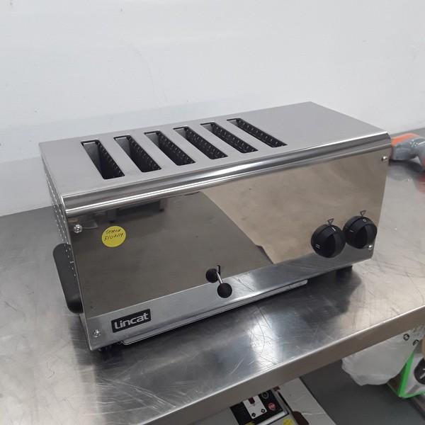 Used Lincat LT6X 6 Slot Toaster(9277)