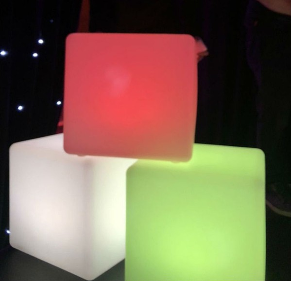 LED Cubes - events