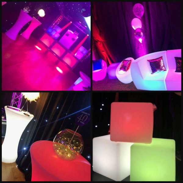LED Furniture for events