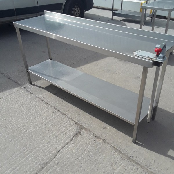 Used Stainless Steel Table (9284)