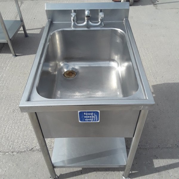 Used Stainless Steel Single Bowl Sink (9286)