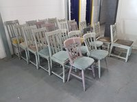 Shabby Chic Farmhouse Chairs