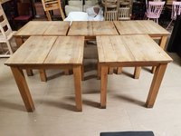 5 No. Solid Oak tables