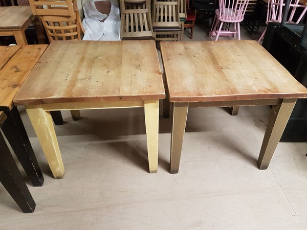 Second Hand Chunky Mellowed Oak Tables