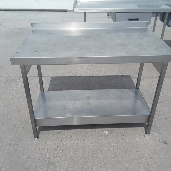 1.2m stainless steel table - Somerset