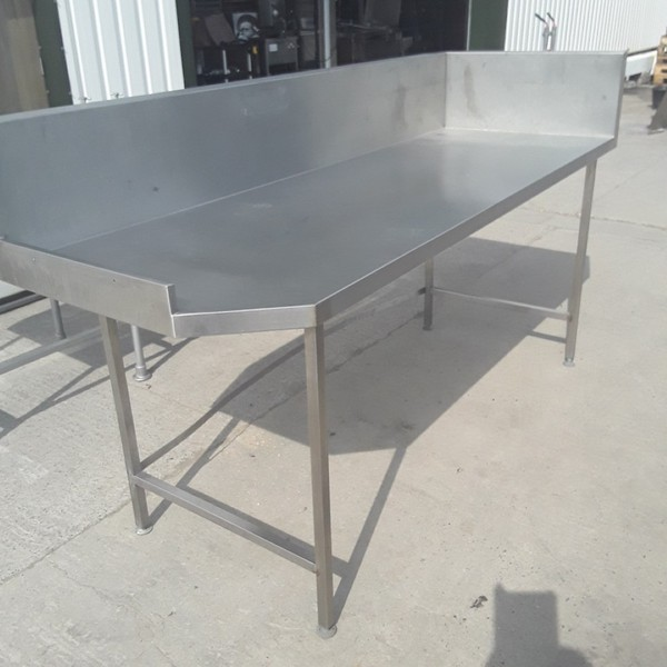 Used Stainless Steel Table (9294)