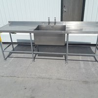 Double drainer single sink