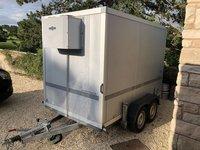 Hombaur refrigerated 3m Trrailer
