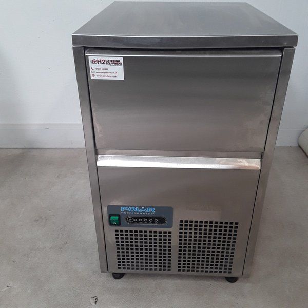 Used Polar GL193 Ice Maker 23kg	(9306)