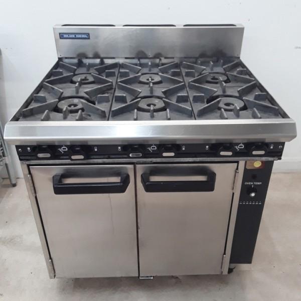 Used Blue seal  6 Burner Range Cooker(9303)