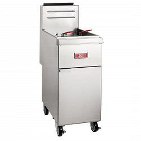 Thor Single Tank Twin Basket Free Standing Propane Gas Fryer 20L