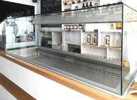 Drop in refrigerated counter