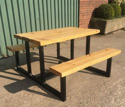 Outdoor Bench Diner 4 Seater