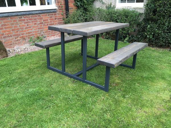 Bespoke Outdoor Dining Bench