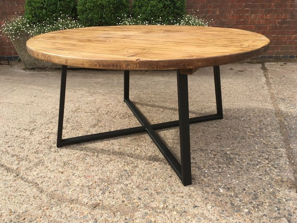 Industrial Style Round Tables
