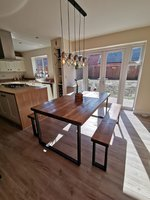 4 Seater Bench Dining Tables