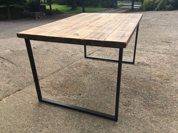 Bespoke Large Industrial Style Table