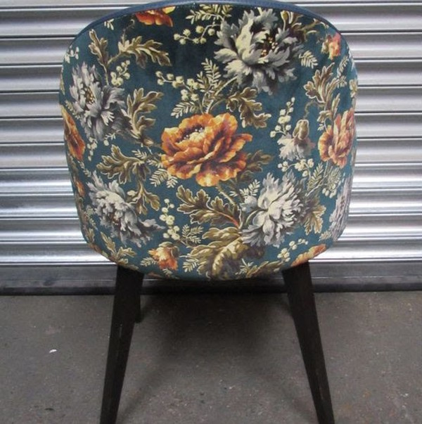 Brand New Arm Chairs with Floral Backs for sale