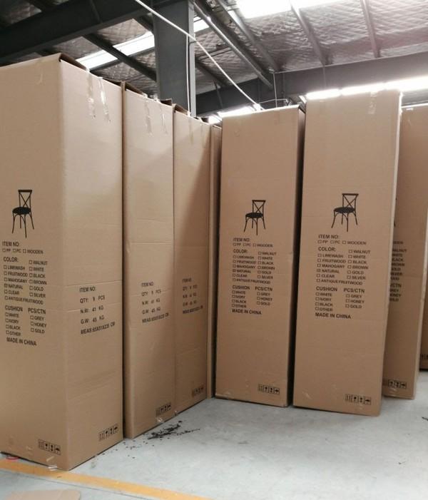 OAK Cross Backed Chairs