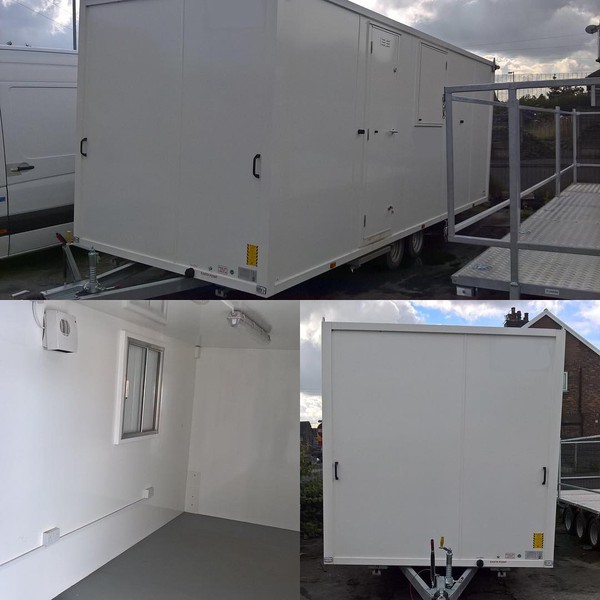 Trailer hire office