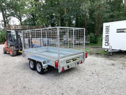 Mesh side trailer 750kg