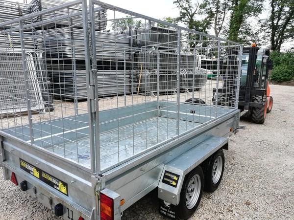Small mesh side trailer