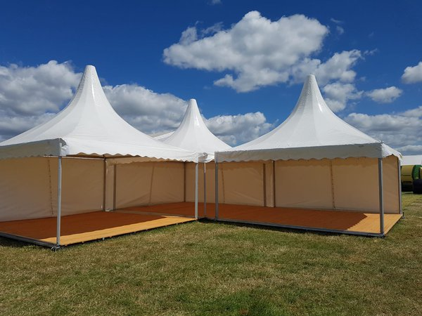 5m x 5m Pagoda marquee for sale