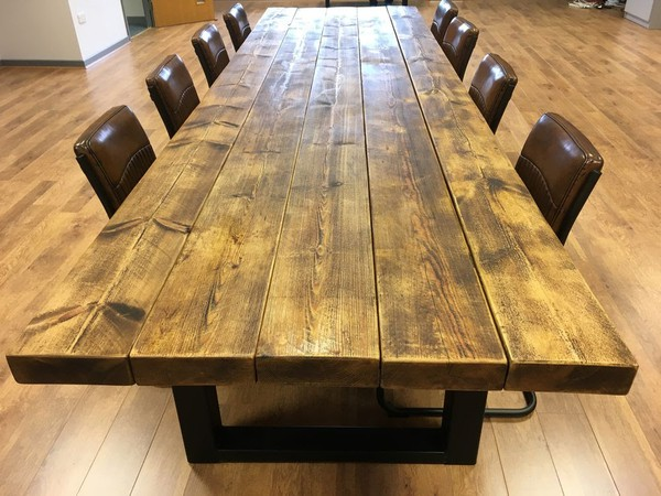 Industrial Style Extra Large Conferencing Table