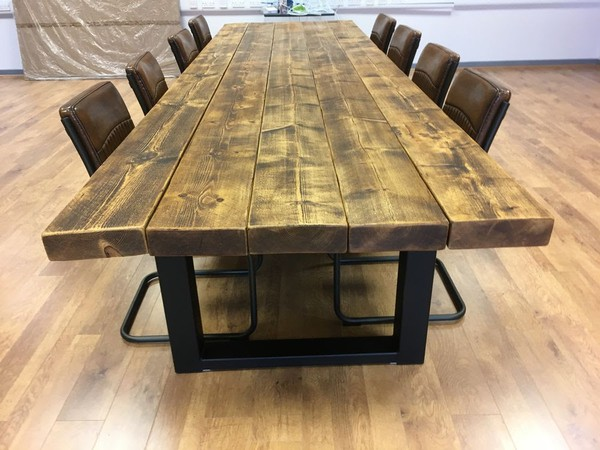 Industrial Style Extra Large Table