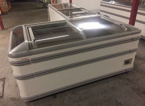 Used AHT (Supermarket Style) Commercial Chest Freezer Paris 1.85M (Tube Lights)