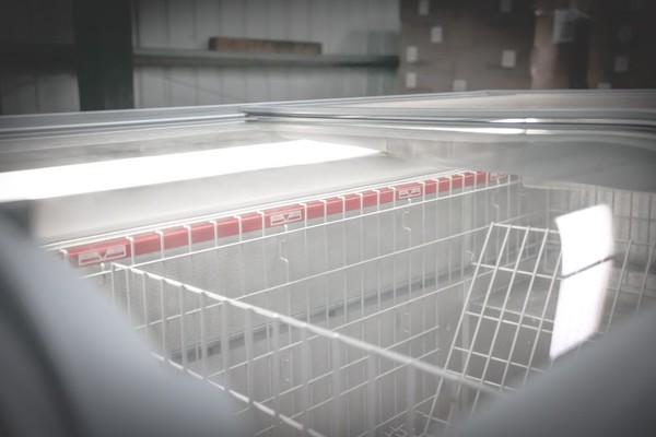 White AHT Paris 1.85M Commercial Chest Freezer