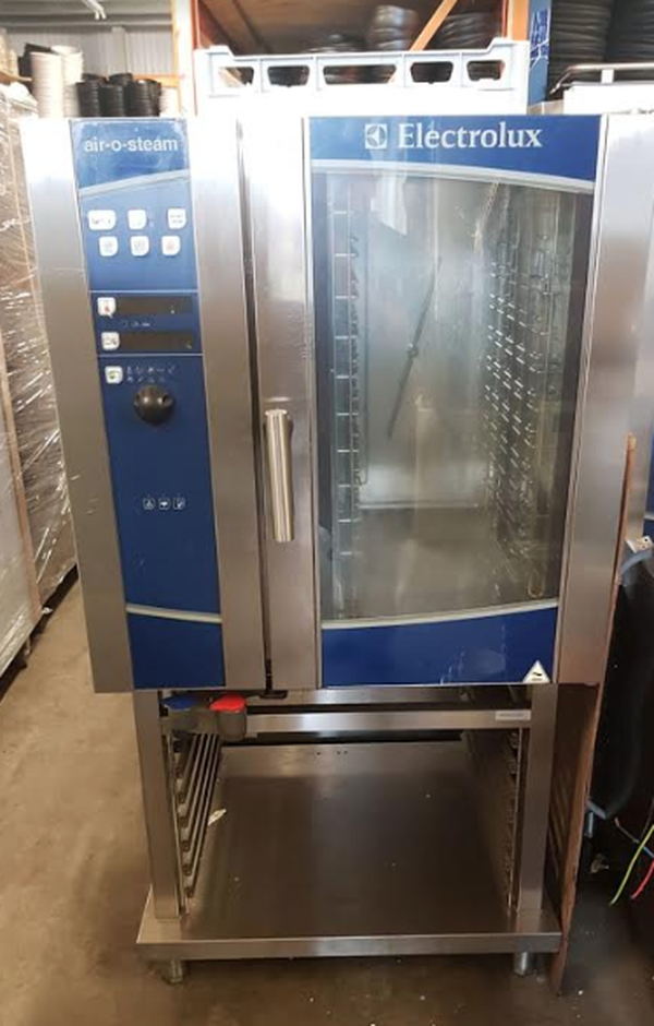 ELECTROLUX Touchline Air o Steam Gas 10 Grid Combi Oven