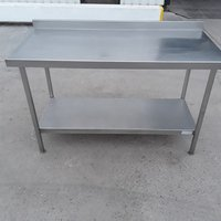1.4m stainless steel table