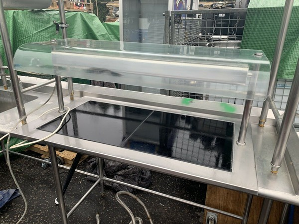 Hot Plate Serving Counter