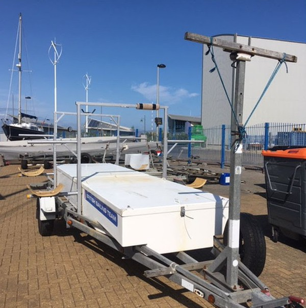 Road Trailer All Purpose - Box, Boats, Catamaran, Nacra 17, Storage