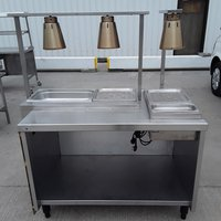 Used   Heated Carvery Hot Lights (9345)