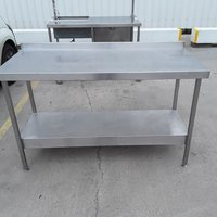 Used Stainless Steel Table (9344)